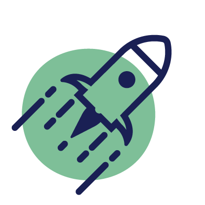 launch and marketing icon